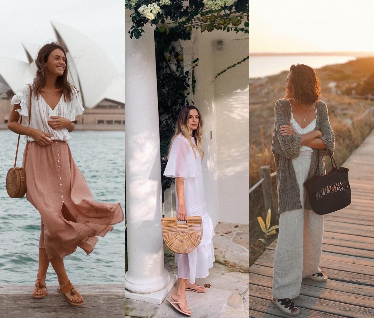 Гид по fashion: с чем носить плетеную сумку