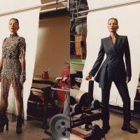 Кейт Мосс снялась в стильной рекламной кампании Alexander McQueen