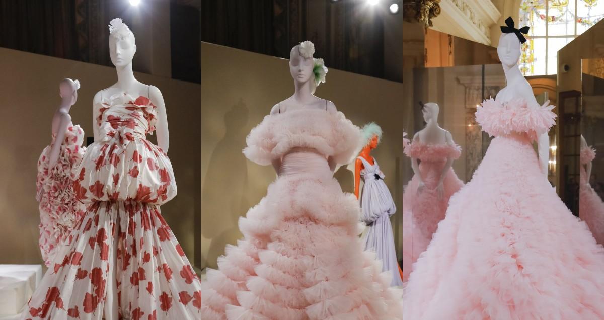 Ободки с бантом и многослойные наряды: Giambattista Valli презентовали кутюрную коллекцию