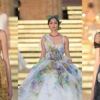 Корсеты и вышивка: Dolce & Gabbana провели показ на Сицилии