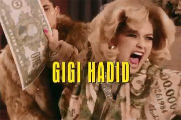 Джиджи Хадид и Ирина Шейк стали героинями культовой оперы в рекламе Moschino