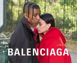 Бренд Balenciaga представил лукбук осенне-зимней коллекции