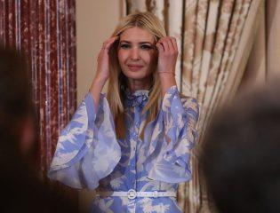 Вся в белом: Иванка Трамп в Колумбии блеснула стильным образом