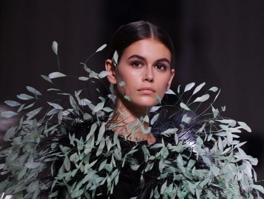 Кайя Гербер впервые украсила обложку Vogue US