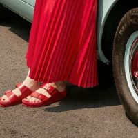 Valentino и Birkenstock вместе создали сандалии