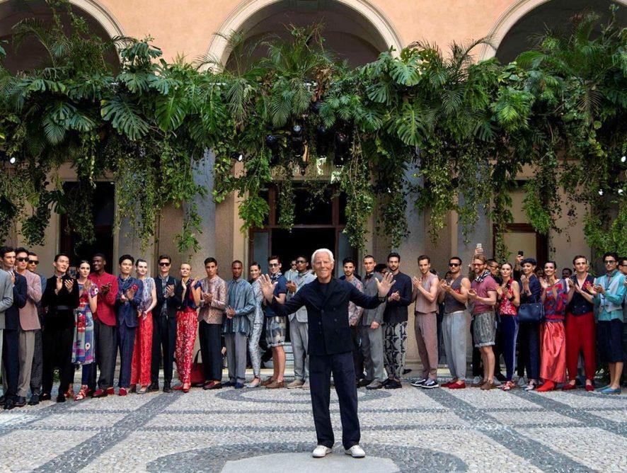 Джорджо Армани возглавит жюри Fashion Film Festival Milano