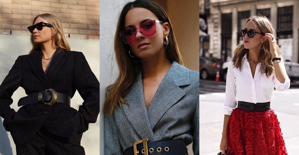 Гид по fashion: с чем носить широкий ремень