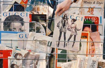Из журналов прошлого века: Gucci показал кампанию осенне-зимней коллекции