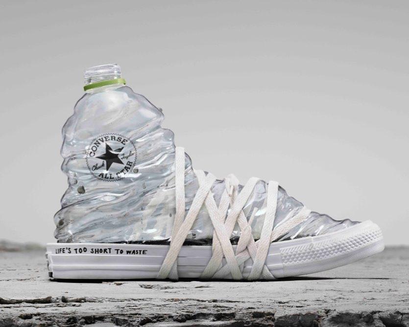 Sustainable fashion: Converse создали кеды из пластиковых бутылок