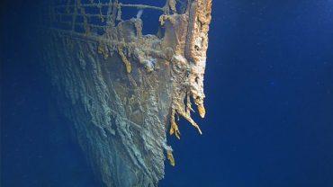 """Океан не щадит: в сеть попало впечатляющее видео затонувшего """"Титаник"""""""