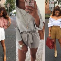 Гид по fashion: как носить объемные шорты