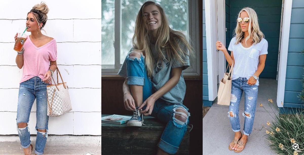 Гид по fashion: как носить джинсы-герлфренд