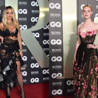 Откровенная Рита Ора и романтичная Эль Фаннинг: в Лондоне прошла церемония GQ Men of the Year Awards