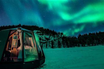 В иглу под звездами: на Северном полюсе откроют невероятный отель