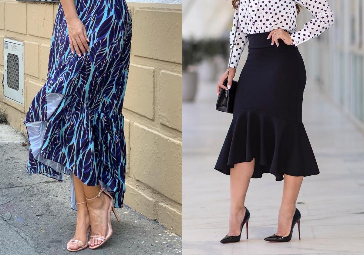 Гид по fashion: с чем носить асcиметричные юбки