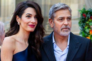 Джордж и Амаль Клуни до свадьбы не были знакомы с Меган Маркл — Mirror