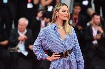 Свейнпол в рубашке-платье и Хант в бронзовых брюках: лучшие фото моделей за неделю