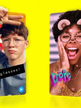 В Snapchat можно будет снимать 3D-селфи