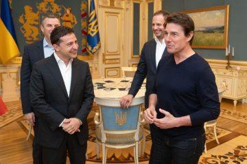 Стало известно, зачем Том Круз приехал в Киев