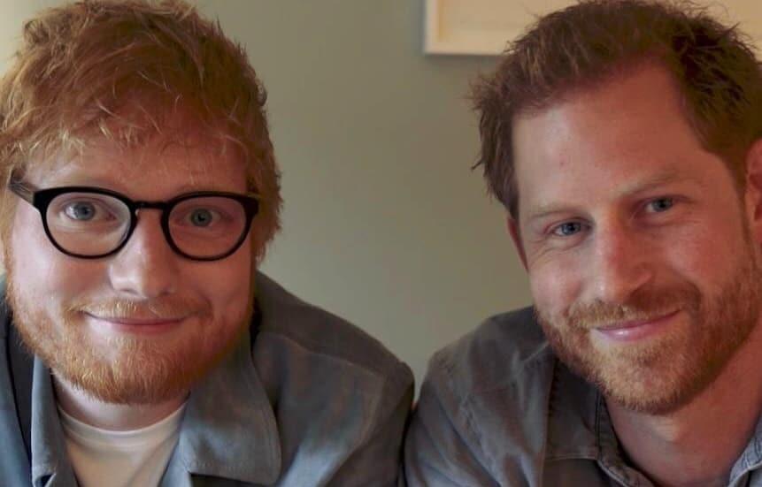"""""""Союз рыжих"""": Эд Ширан и принц Гарри поделились совместным видео"""