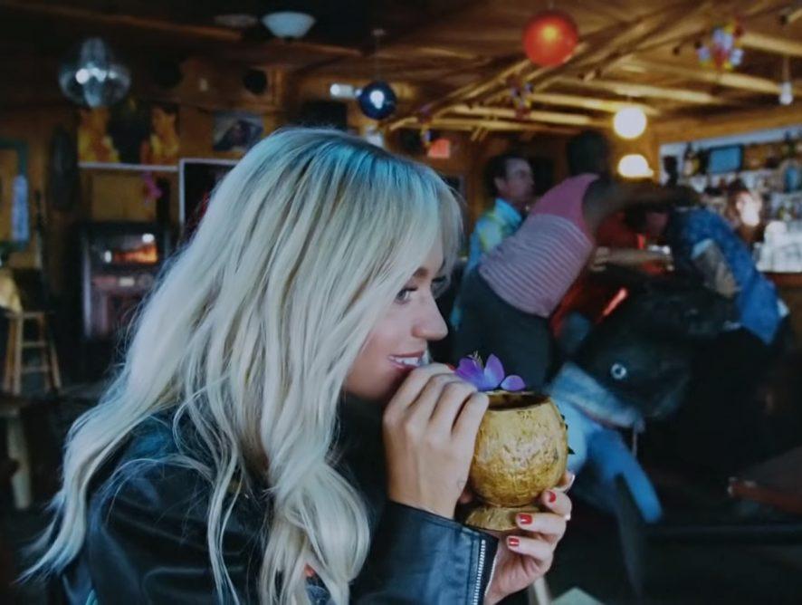 Кэти Перри представила новый клип Harleys In Hawaii