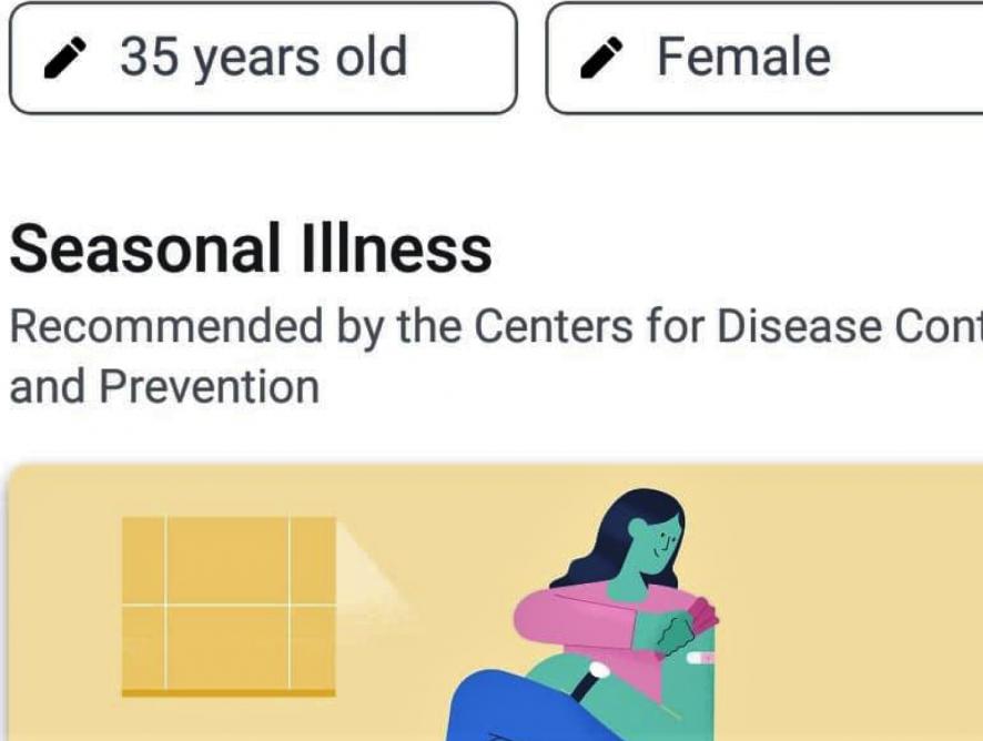 Facebook напомнит пользователям позаботиться о здоровье