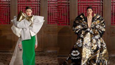 Райский цветник: Valentino провели кутюрный показ в Пекине