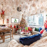 В нью-йоркском отеле появился люкс в стиле рождественского фильма