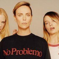 Николь Кидман, Марго Робби, Шарлиз Терон снялись в экстравагантной фотосессии для глянца