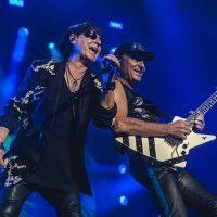 Лидер рок-группы Scorpions прогулялся по улицам Киева