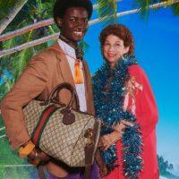 Хармони Корин снял рождественскую кампанию Gucci