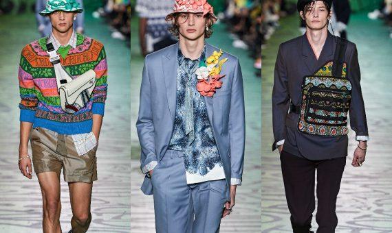 В Майами состоялся показ мужской линии Dior Pre-Fall 2020