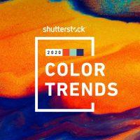 Компания Shutterstock представила цветовые тренды 2020 года
