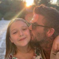 Праздники приближаются: Дэвид Бекхэм опубликовал милое фото с дочерью
