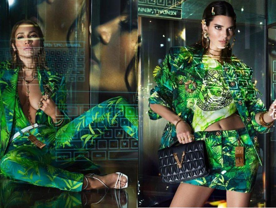 Дженнифер Лопес и Кендалл Дженнер блеснули в новом лукбуке Versace