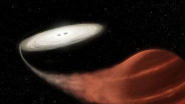 "Астрономы NASA обнаружили ""звезду-вампира"""
