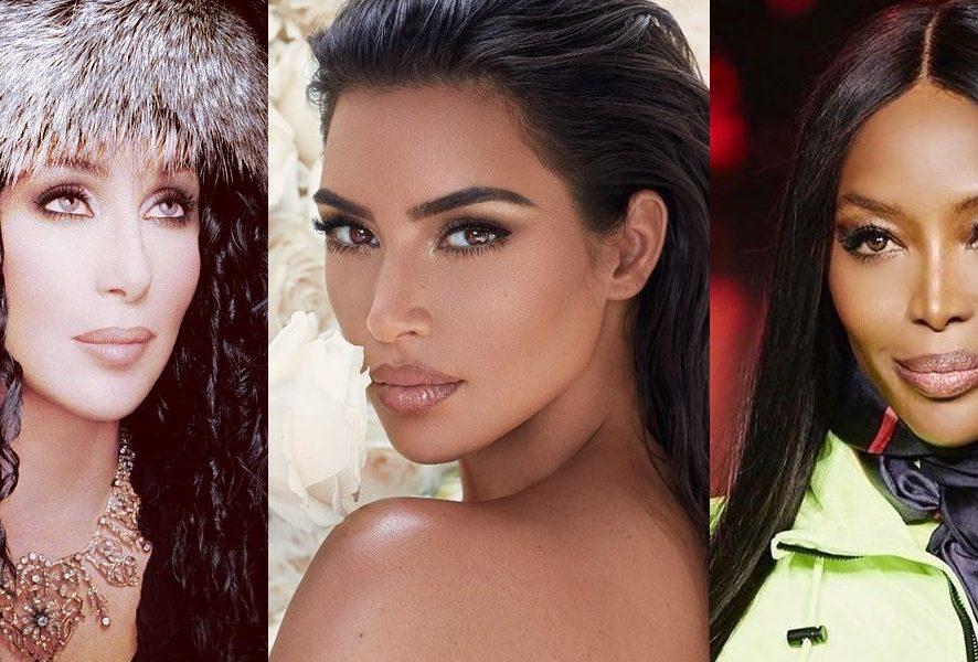 Впервые вместе: Шер, Ким Кардашян и Наоми Кэмпбелл снялись в дерзкой фотосессии для книге о моде