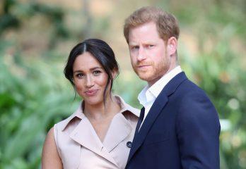 Принц Гарри и Меган Маркл представили новое официальное фото