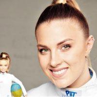 Украинская спортсменка Ольга Харлан получила персональную Барби