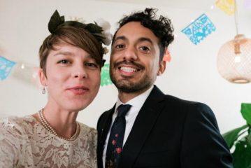 Из-за карантина: пара из США поженилась по видеоконференции Zoom