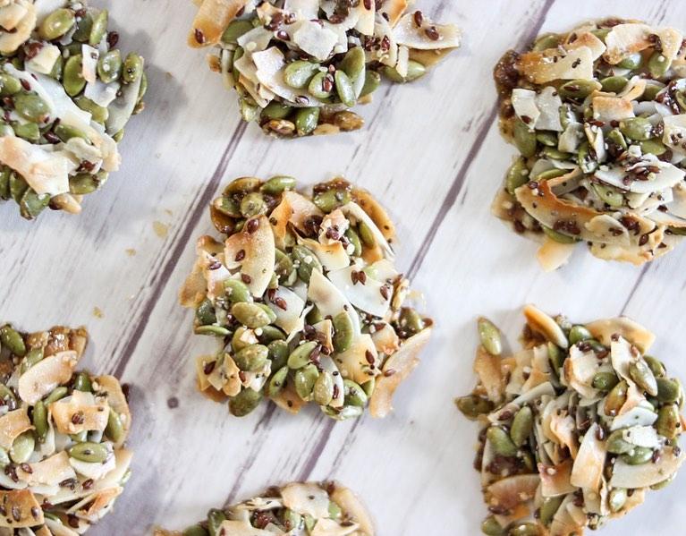 Рецепт хрустящих кранчей из семян от диетолога