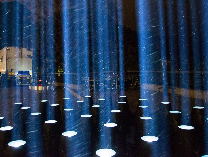 """""""Стоп культурный карантин"""": в Украине провели впечатляющую световую акцию"""
