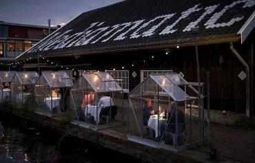 Социальная дистанция: ресторан в Амстердаме пригласит гостей в теплицы