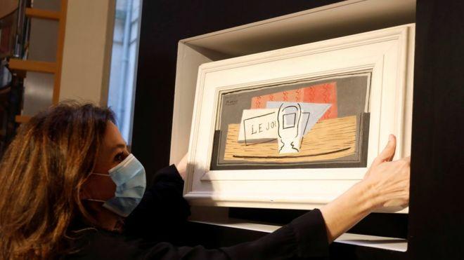 Итальянка выиграла в лотерею картину Пикассо