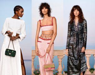 Костюмы из крепа и платья-кроше: Chanel показали круизную коллекцию