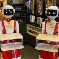 В Нидерландах клиентов обслуживают роботы-официанты