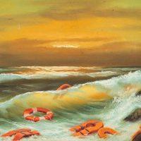 Бэнкси пожертвовал три картины для благотворительного аукциона