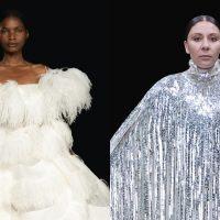 Королевские платья, органза и банты: Valentino презентовали кутюрную коллекцию FW 2020