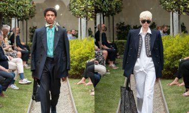 Milan Digital Fashion Week: Etro устроили первый живой показ после карантина