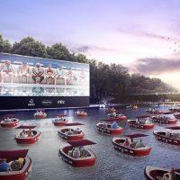 В Париже откроют кинотеатр на воде
